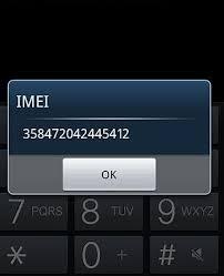 contoh IMEI