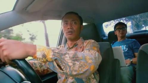 Pak Sugiman, sang supir yang bau ketek...