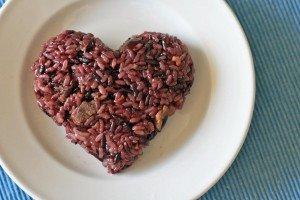 Nasi Merah dan Tumis Sayur