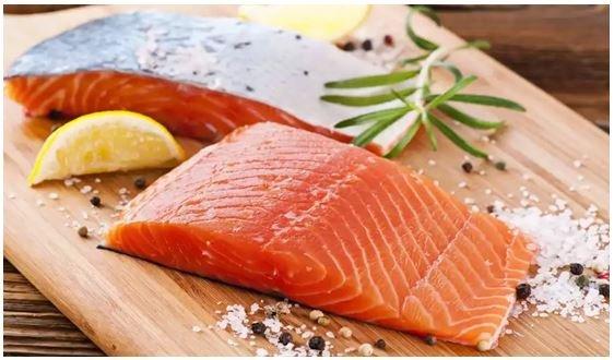 Salmon sehat sih, harganya juga..