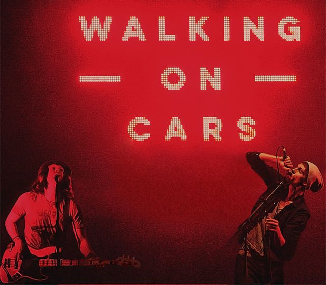 Walking On Cars performed
