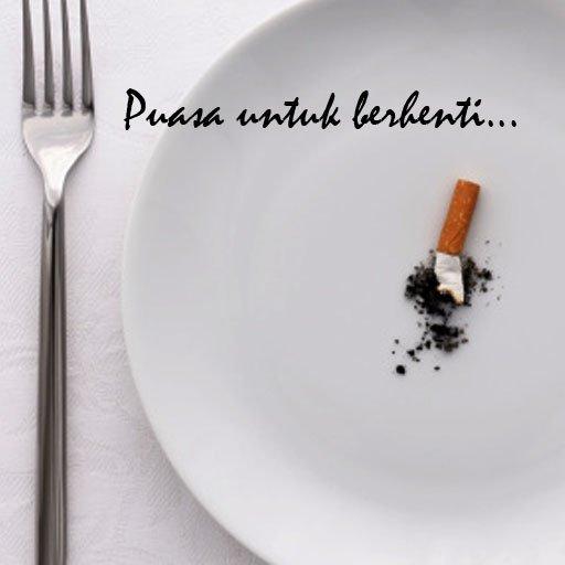 lagi puasa rokok meski bukan bulan puasa