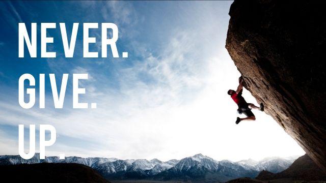 Tidak Mudah Menyerah