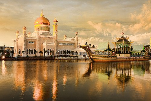Belajar di negeri tenang nan damai... Brunei Darussalam..