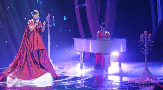 Di acara ini, dangdut tidak lagi identik dengan rok mini.