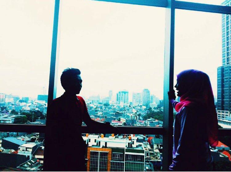 """Jakartanya mana, Ndah?"" via instagram.com"