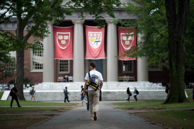 selamat datang di universitas harvard :)