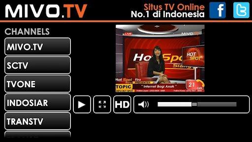 Mivo TV adalah situs streaming online yang cukup populer.