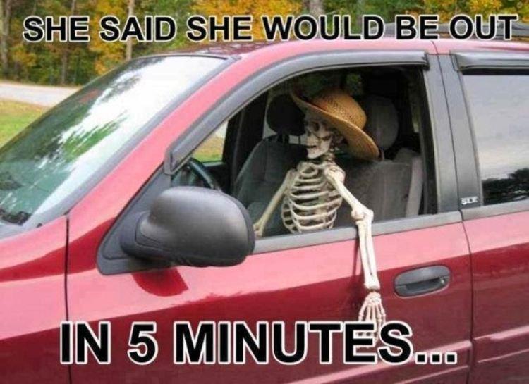 katanya 5 menit, tapi...