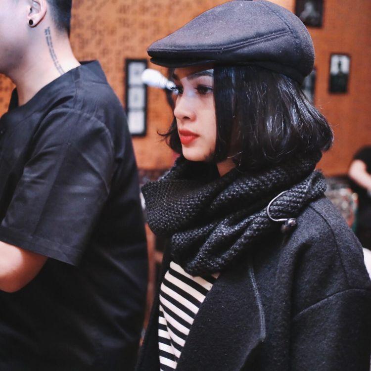 scarf tebal bisa bikin elegan