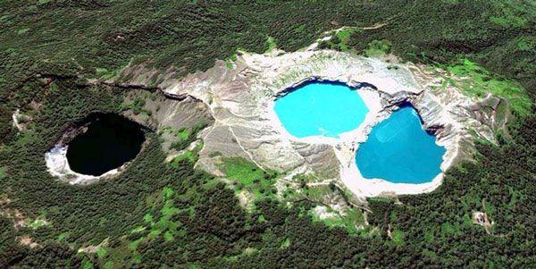 Danau Kelimutu Sebelum