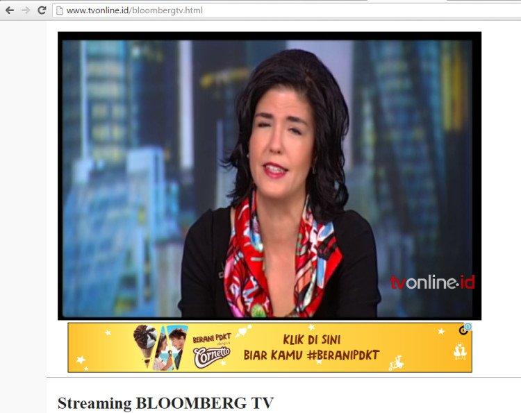 Channel berita juga bisa kamu tonton lho di situs tv online.id.
