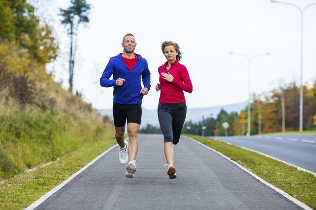 Lari sore agar kondisi fisik tetap bugar
