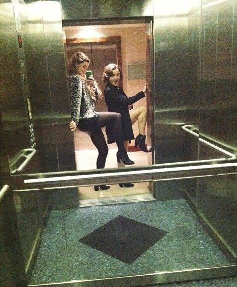 Ketemu di lift? Nggak masalah~