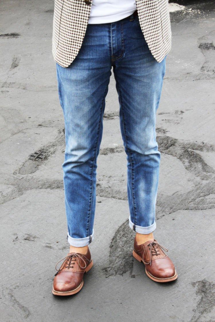 Kamu pingin kan jeans-mu berefek fading kaya gini?