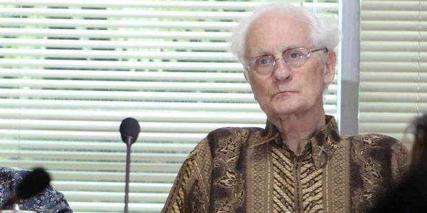 Romo Magnis, salah satu dosen filsafat di STF Driyarkara
