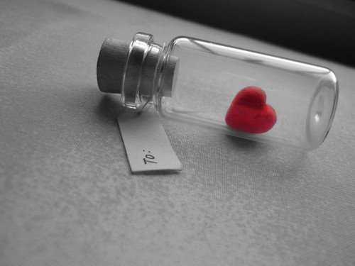 Hati yang lama tersegel bisa lumutan lho.