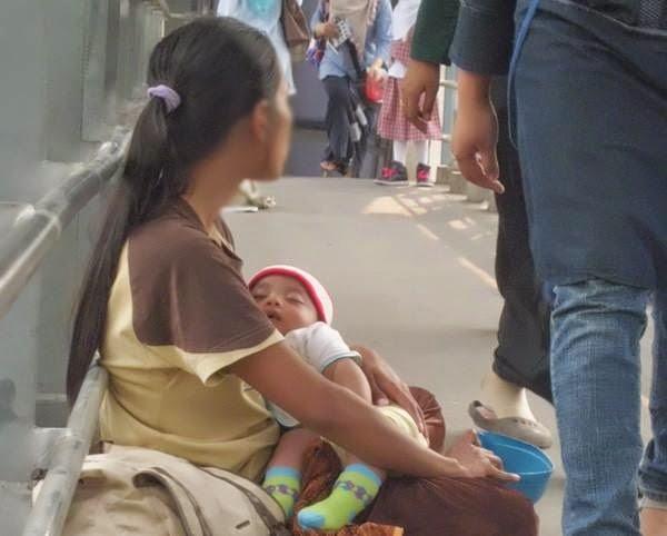 bayi ini kadang belum tentu memang bayinya