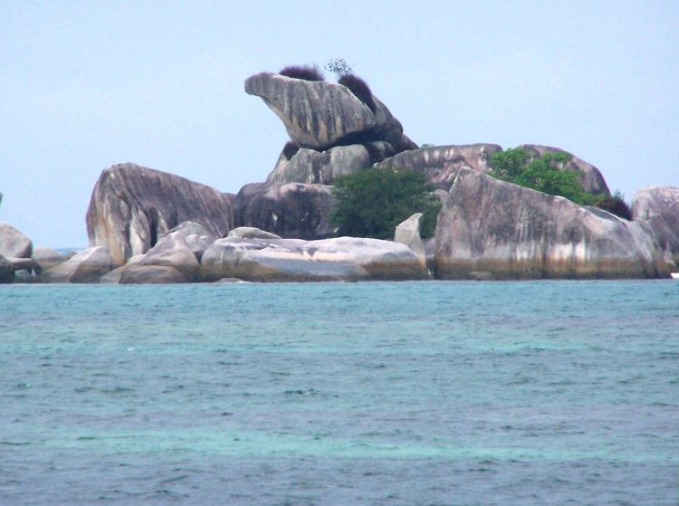 Tanjung Kelayang, Belitung.