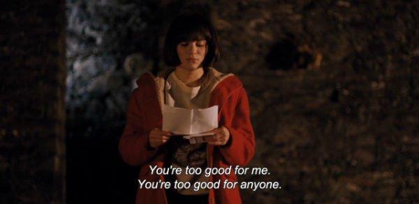 """kamu terlalu baik buatku"""