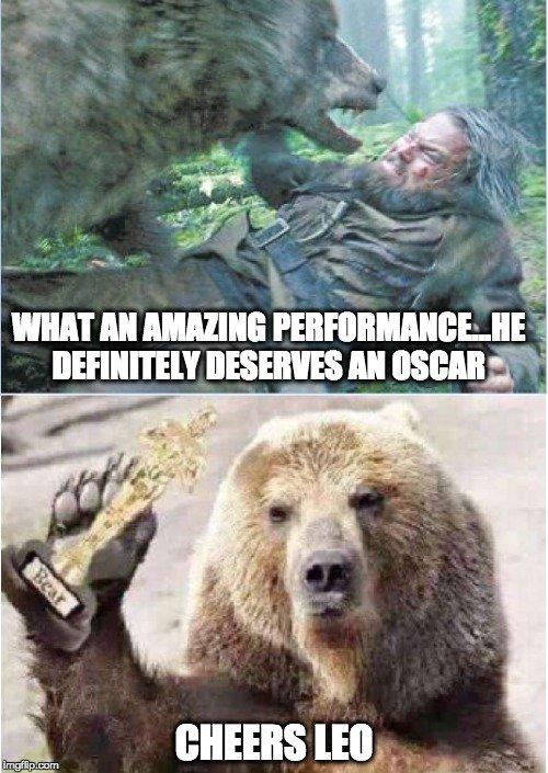 Setelah dihajar beruang kamu bisa menang, Leo