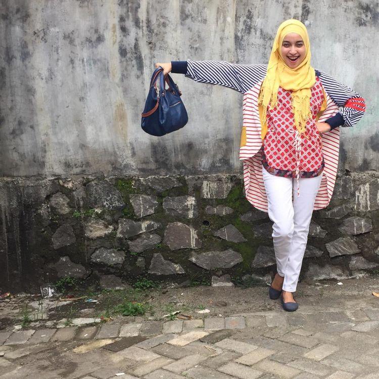 pakai jeans vs batik