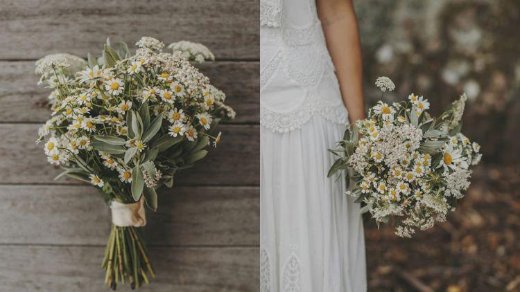 untuk momen pernikahan sakralmu kelak inspirasi buket bunga