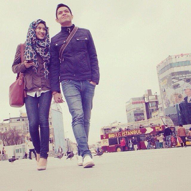 Bulan madu romantis di Turki.