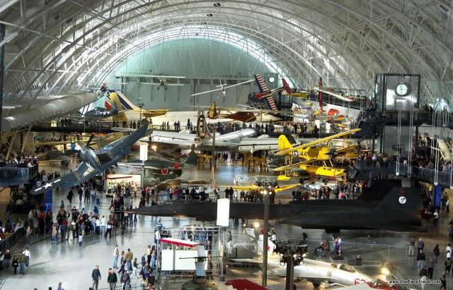 Air and Space Museum Display
