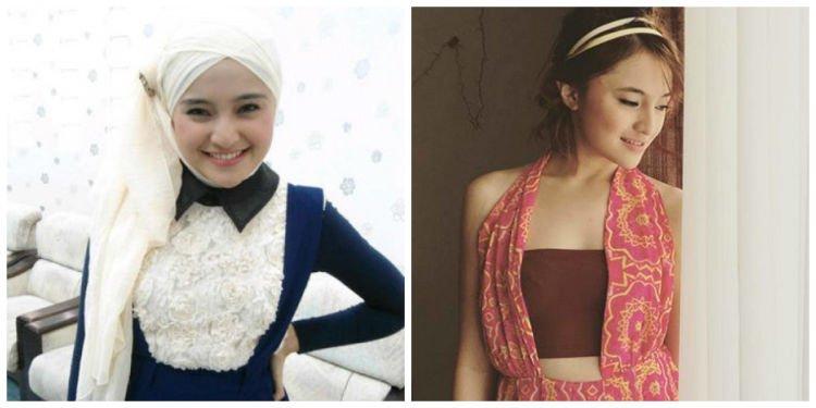 Hijab yang menutup dada (rizkiutami123.blogspot.com) atau yang sebelahnya (www.wowkeren.com)?