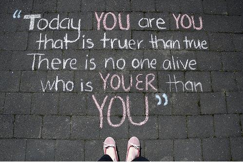 bukan dirimu sebenarnya