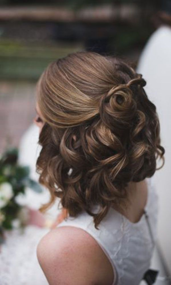 The 25+ best Short wedding hairstyles ideas on Pinterest | Wedding ...