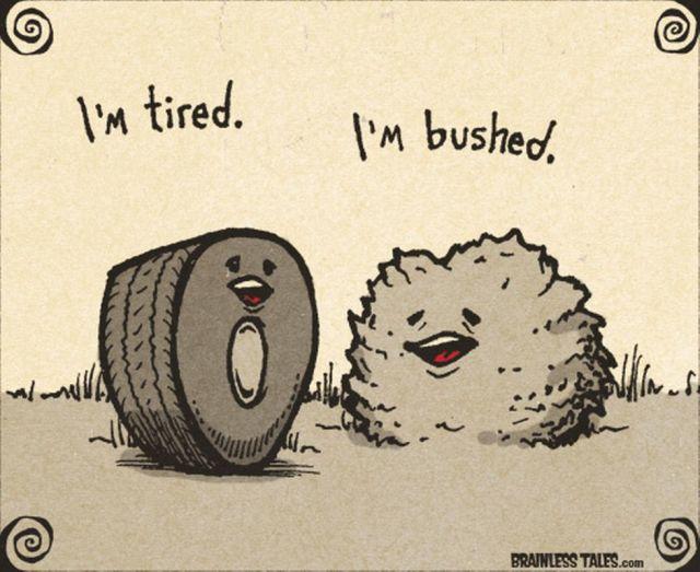 Bukan tired ini... T_T
