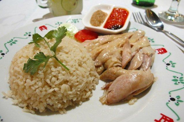 Nasi Hainam, olahan nasi yang lezat dan sehat.