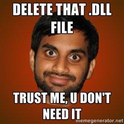 Delete files