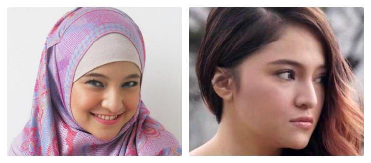Mana yang lebih adem, yang kanan (www.hijabii.com) atau yang kiri (m.eksposnews.com)?