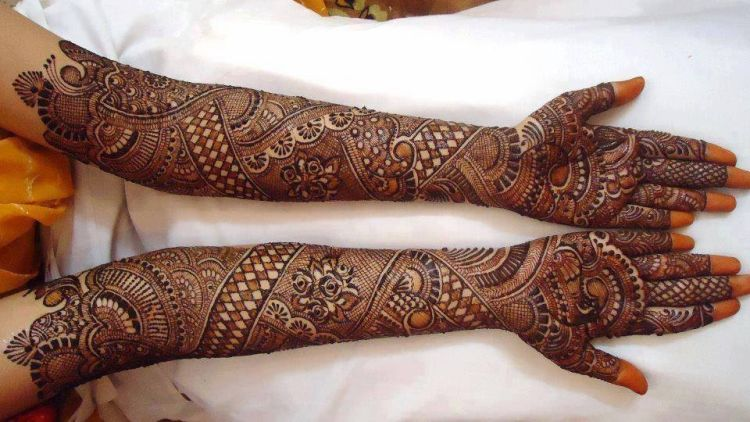 henna seluruh tangan