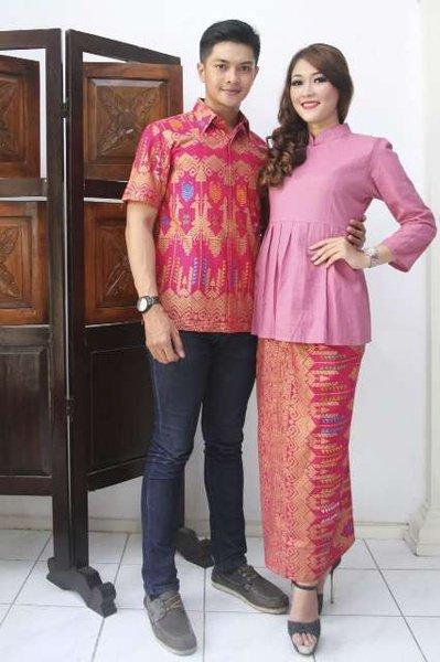 kain songket, khas Indonesia