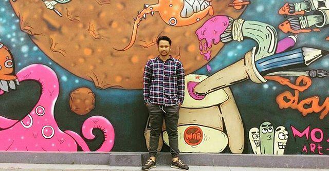 Grafiti yang menarik buat kamu foto-foto dan diupload ke Instagram
