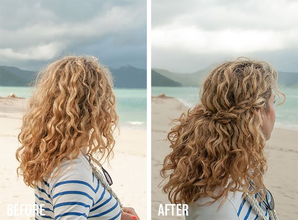 biar rambut keritingmu nggak berantakan