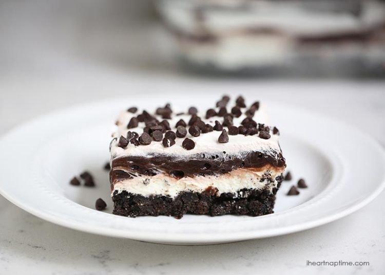 lasagna cokelat