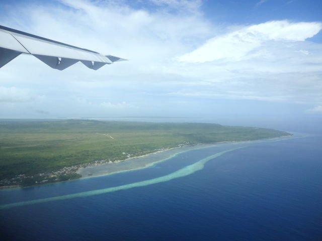 Pulau Wangi-Wangi, Wakatobi dari atas pesawat.. Keren abis broo!