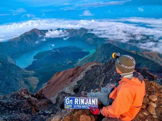 Rinjani, salah satu nama gunung yang syahdu kamu pakai untuk nama anak nanti