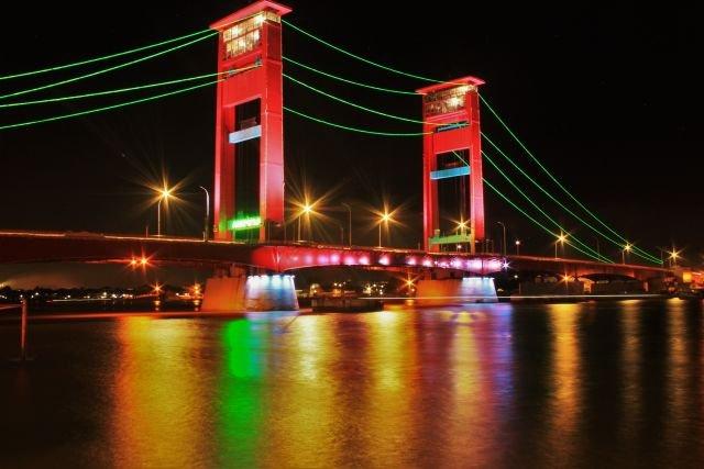 Jembatan Ampera, Mengakhiri malam demi GMT