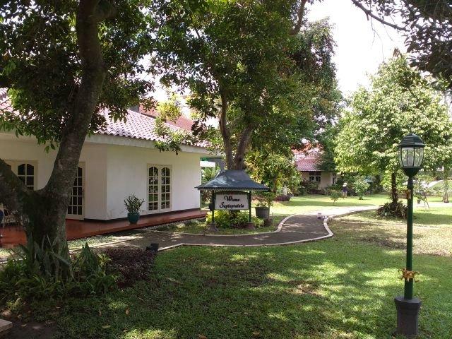 Wisma Saptapratala, salah satu wisma yang berada di komplek Istana Kepresidenan Yogyakarta.