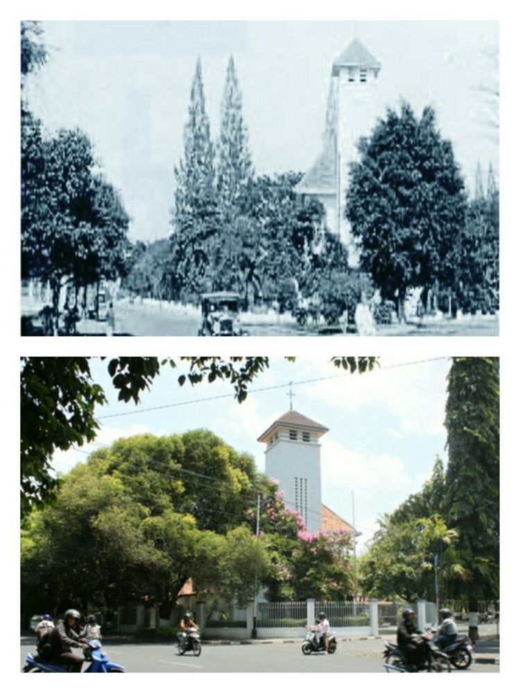 Gereja di Kotabaru, Jogja.