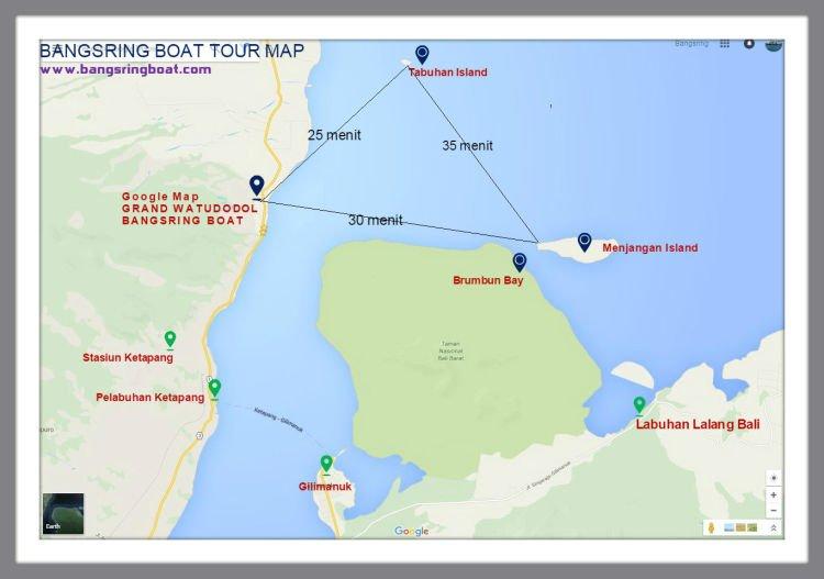 Peta dari