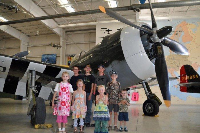 Palm Springs Air Museum, Amerika Serikat.