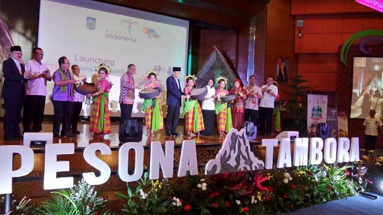 Peresmian Festival Pesona Tambora. Ntap!