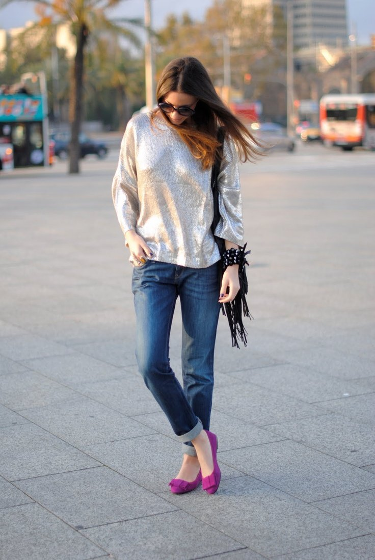 Pink-Flat-Shoes-for-Street-Style